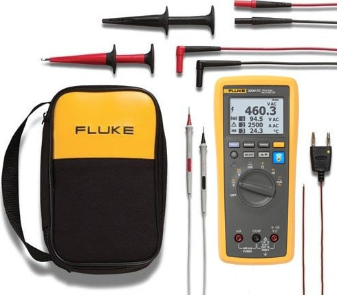 Fluke 3000FC/EDA2 Electronics DMM and Deluxe Accessory Kit