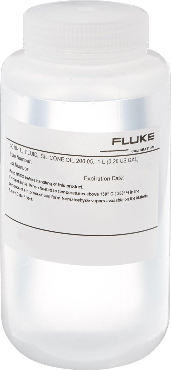 Fluke 5010-1L Silicone Oil Type 200.05, 1 liter (0.26 gal)