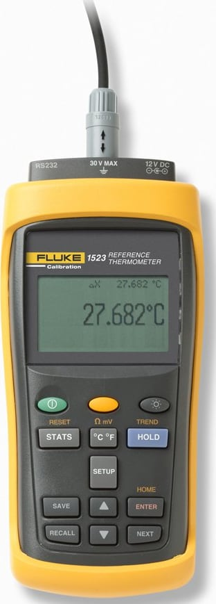 Fluke 1523-P4-156 Handheld Thermometer Readout
