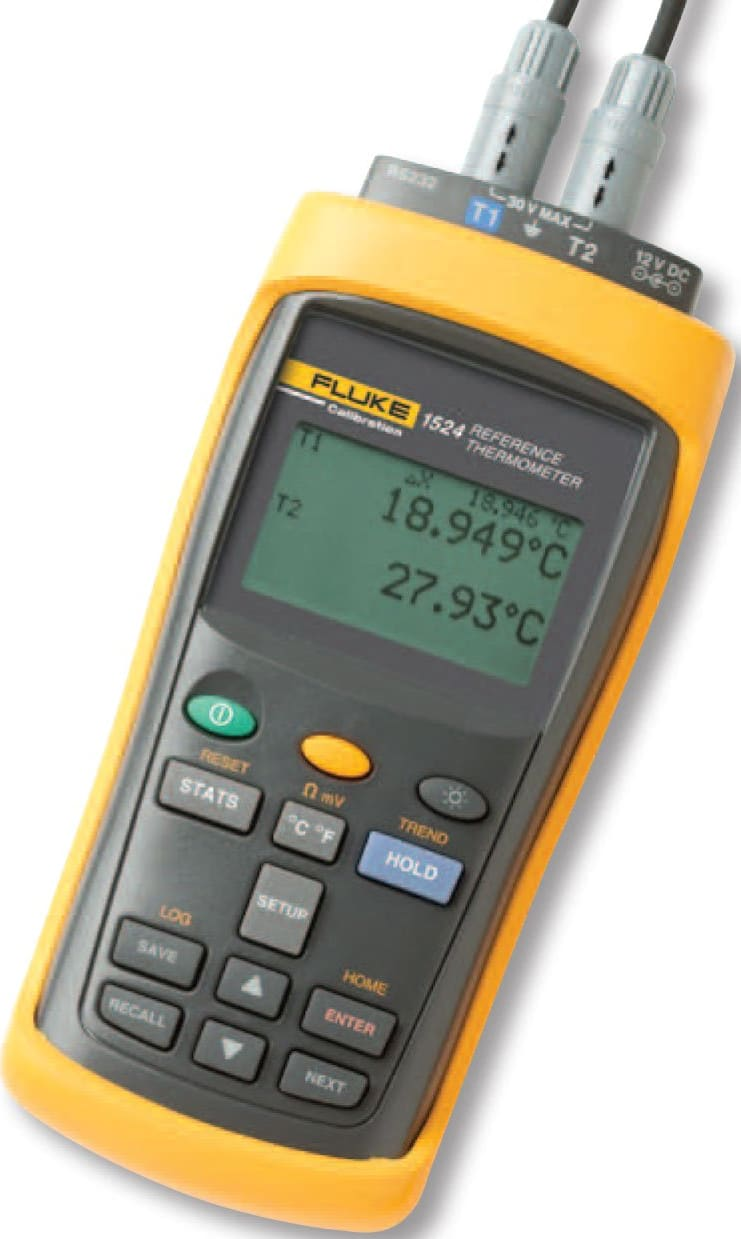 Fluke 1524-P4-156 Handheld Thermometer Readout