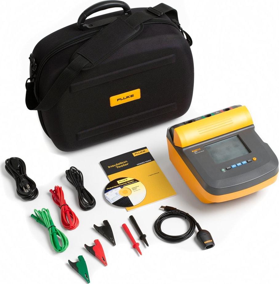 Fluke 1550C Insulation Tester Kit