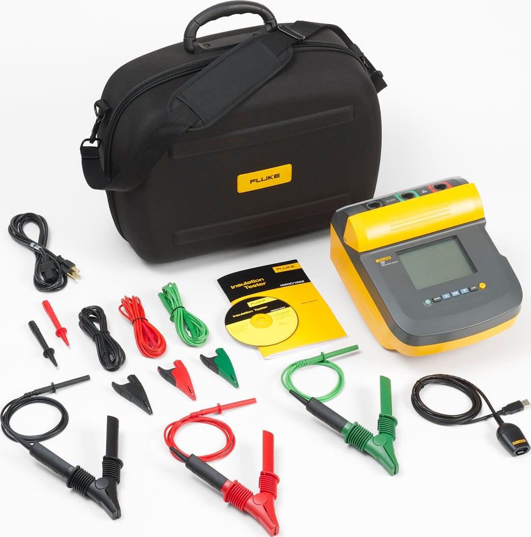 Fluke 1555 FC Insulation Tester Kit