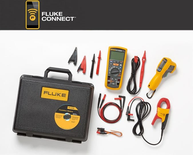 Fluke 1587KIT/62MAX  FC 2-IN-1 Advanced Electrical Troubleshooting Insulation Multi Kit with 62MAX  I400