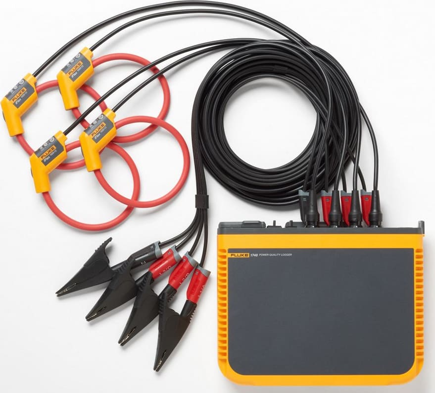 Fluke 1740 Series Three-Phase Power Quality Loggers