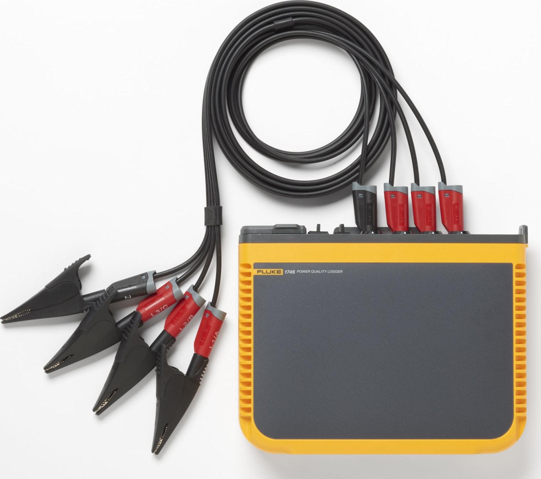 Fluke 1740 Series Three-Phase Power Quality Loggers No iFlex