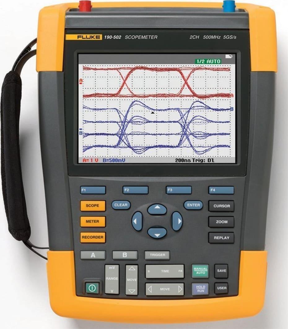 Fluke 190-502 ScopeMeter Test Tool