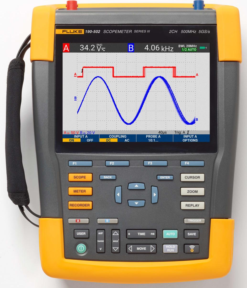 Fluke 190-502 - ScopeMeter III Series