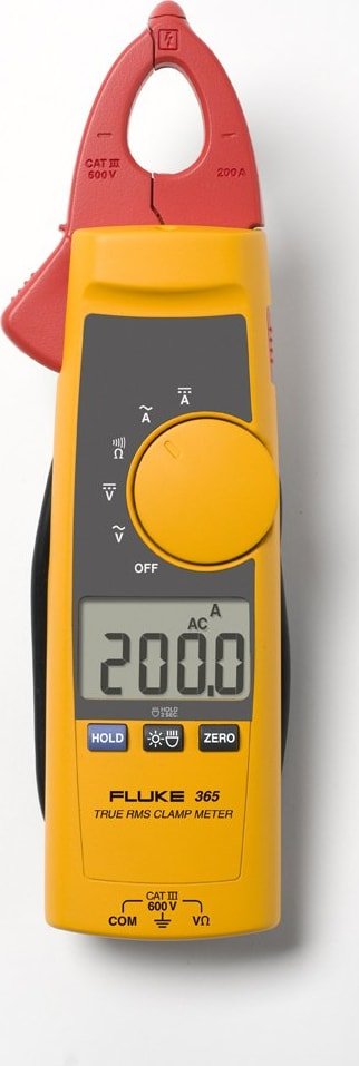 FLUKE 365 Detachable 200A TRMS AC/DC Clamp