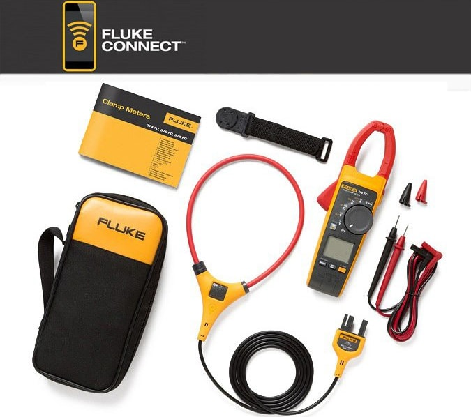 Fluke 376-FC Clamp Meter with iFlex