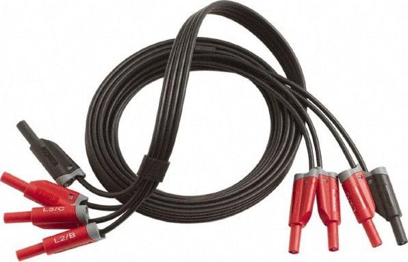 Fluke 3PHVL-1730 3-Phase Voltage Test Leads