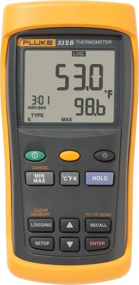 Fluke 53-2 60Hz Single Input Thermometer