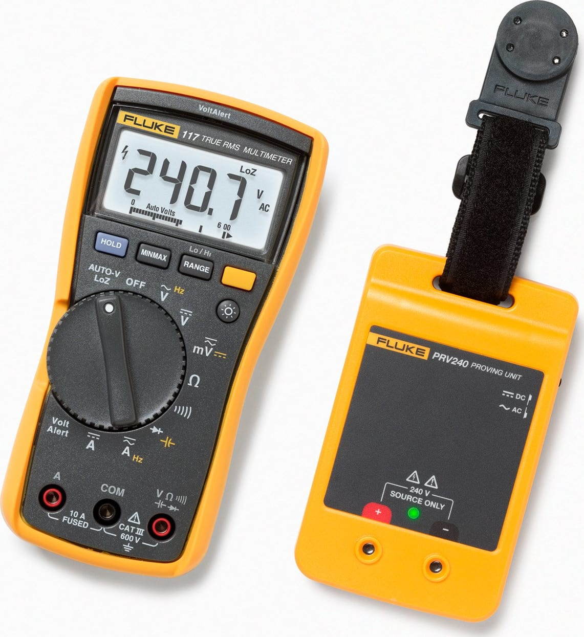 Fluke PRV240 Proving Unit Kit with F-117
