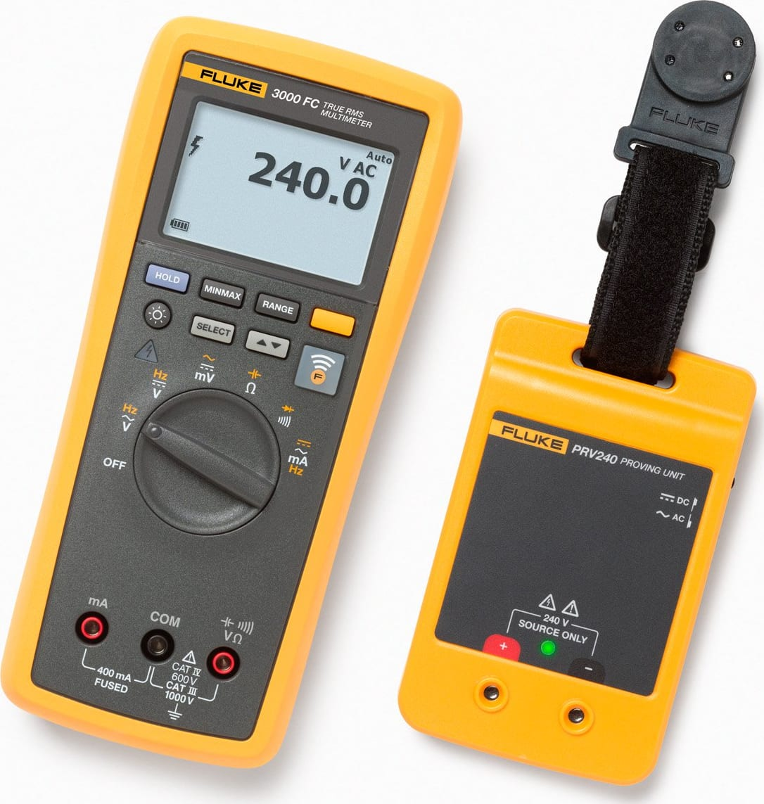 Fluke PRV240 Proving Unit Kit with 3000FC DMM