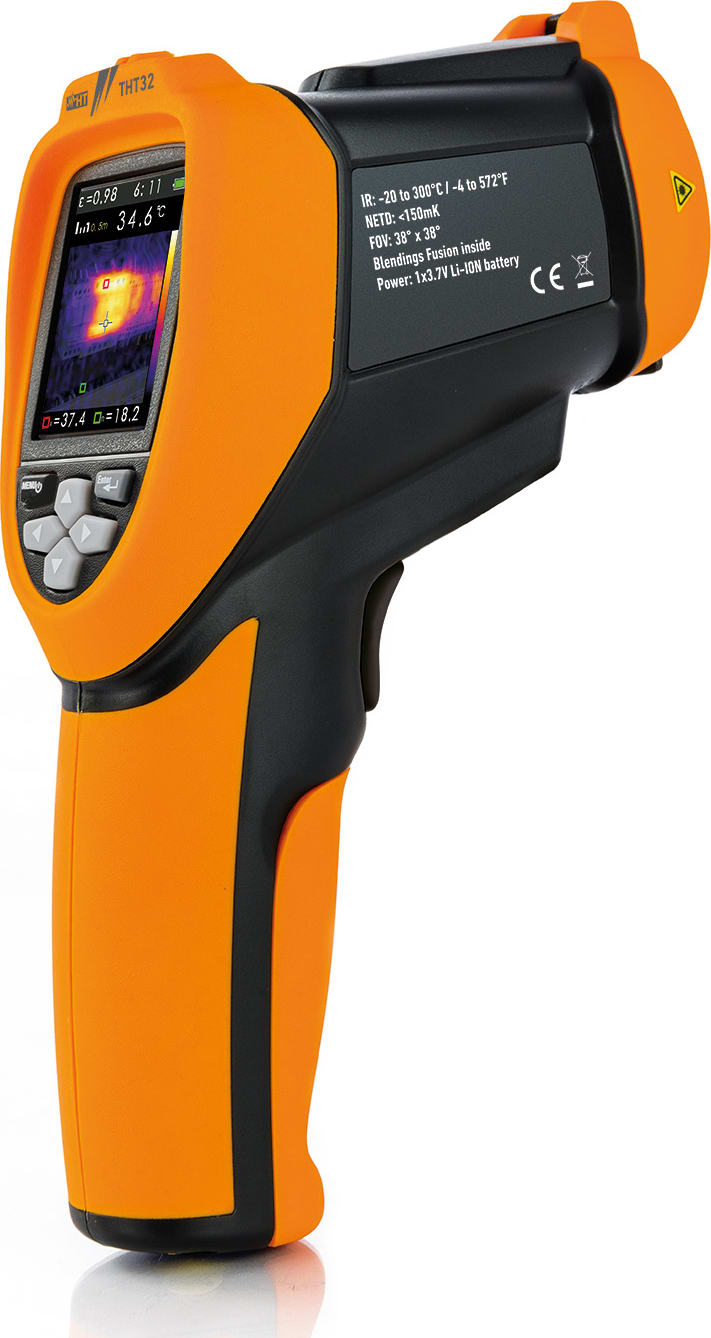 HT Instruments THT32 Infrared 32x31 pixel imager thermometer