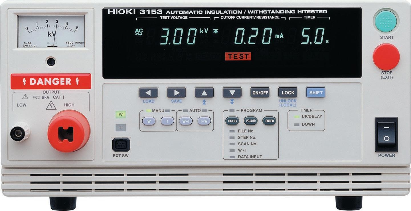 Hioki 3153 Insulation Resistance Tester - Hi Tester