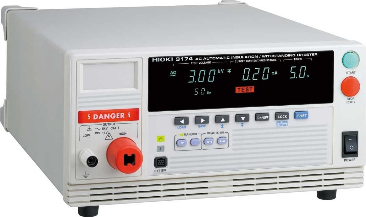 Hioki 3174 AC Automatic Insulation/Withstanding Tester