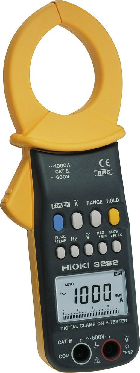 Hioki 3282 Clamp On Hi-Tester TRMS