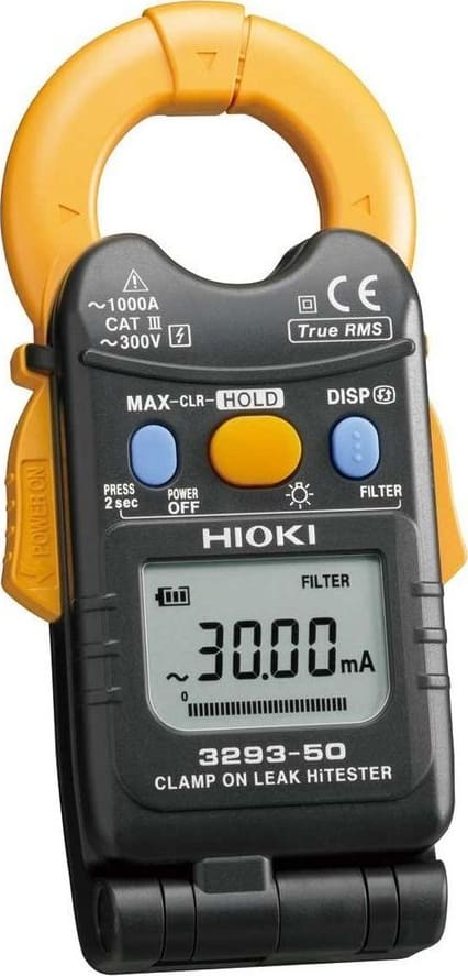 Hioki 3293-50 AC Current Leakage Hi-Tester