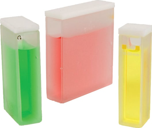 Jenway 060231 Pack of 100 UV plastic cuvettes, 1.5 to 3.0ml fill volume