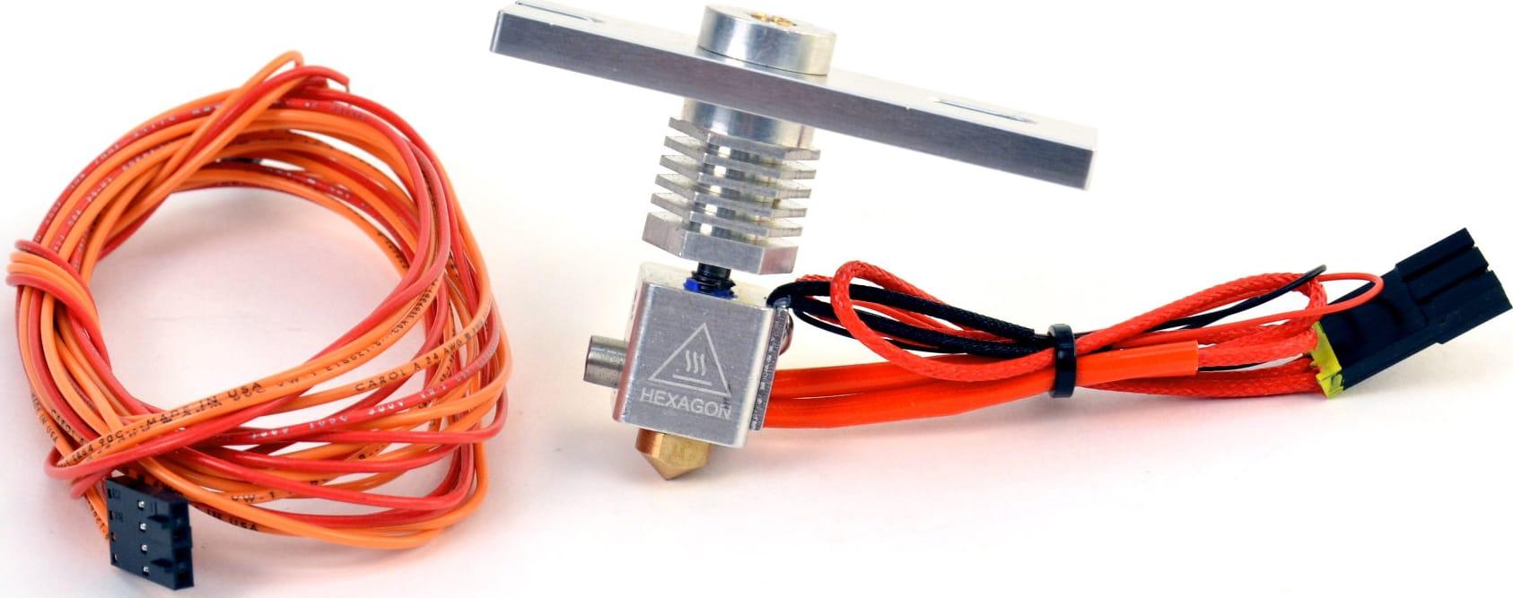 Lulzbot HE-SH0039 LulzBot v2 (Hexagon) Hot End Kit 3.0mm, 0.6mm Nozzle