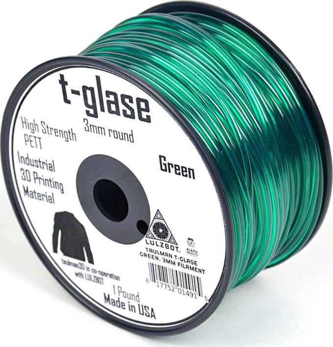 Lulzbot RM-PE0004 T-glase Filament - Green