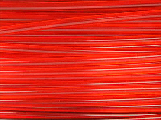 Lulzbot RM-PL0019 PLA Filament (Village Plastics) - Translucent Red