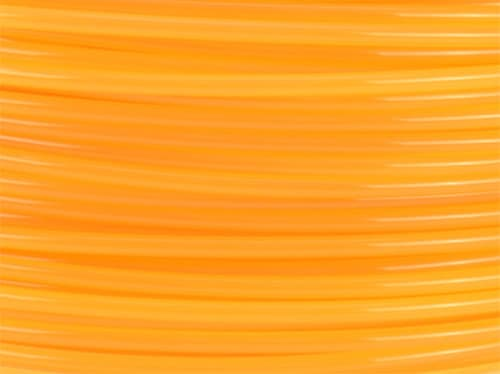 Lulzbot RM-PL0085 PLA Filament (Village Plastics) - Translucent Orange
