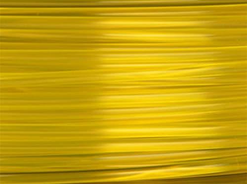 Lulzbot RM-PL0086 PLA Filament (Village Plastics) - Translucent Yellow