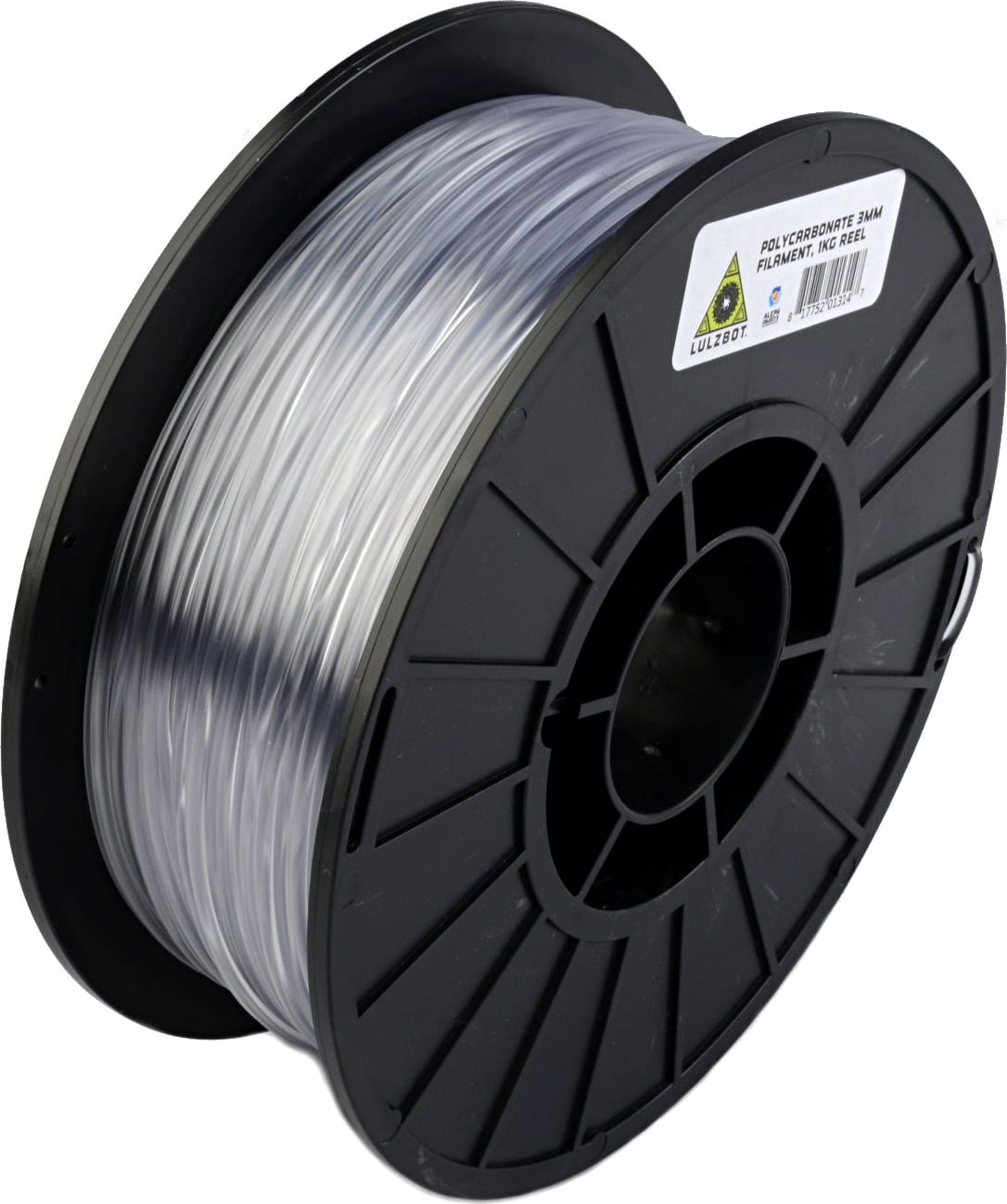 Lulzbot RM-AB0068 PolyCarbonate Filament Village Plastics Natural