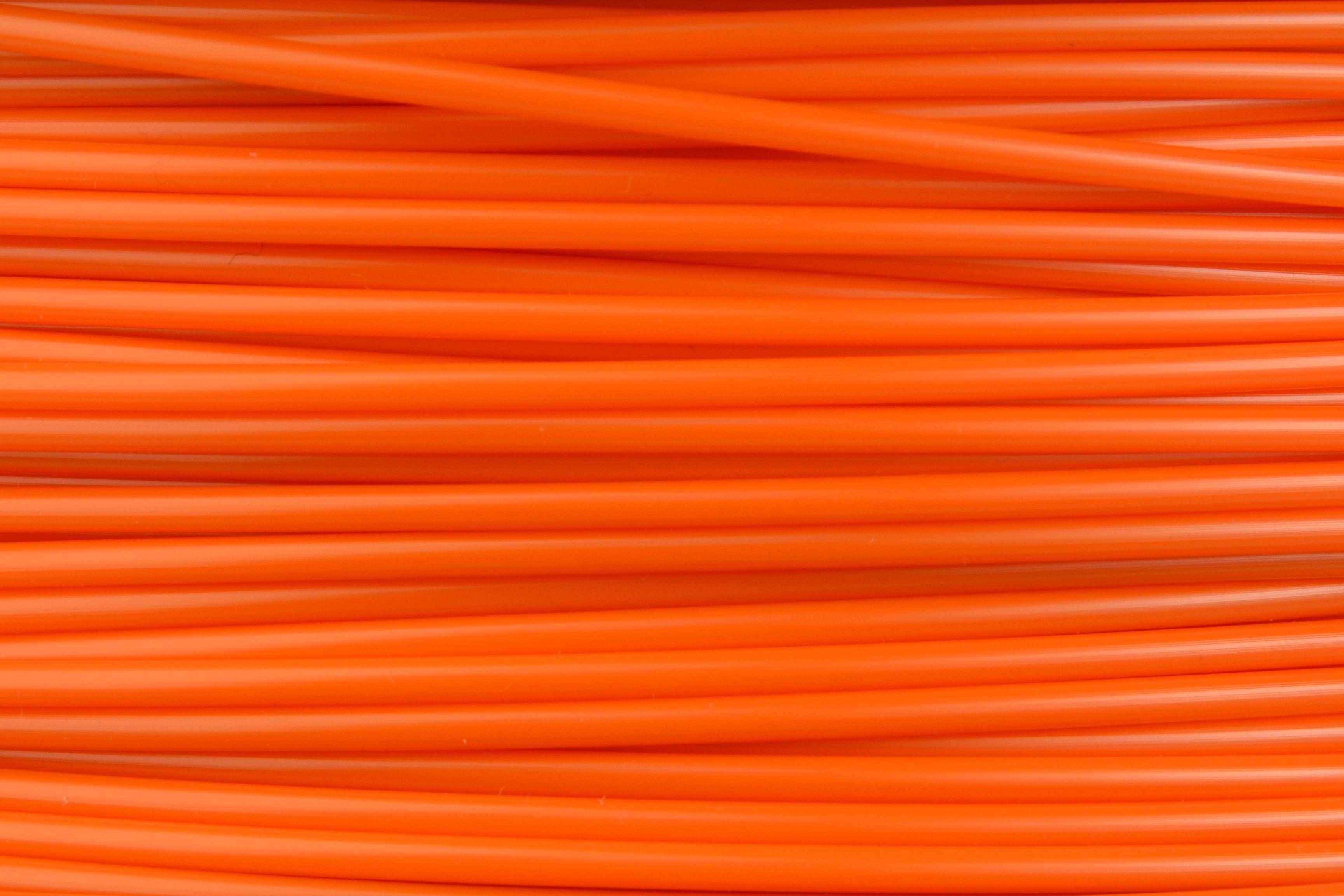 Lulzbot RM-AB0072 ABC Filament Village Plastics Safety Orange