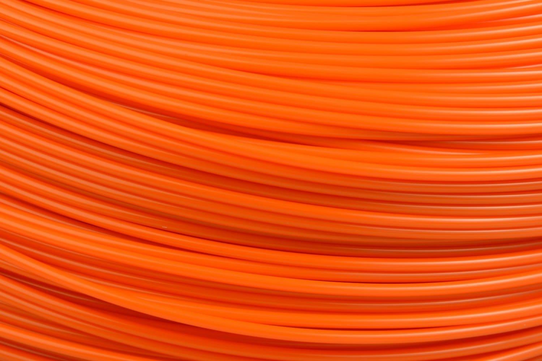 Lulzbot RM-AB0101 ABS Filament Village Plastics Safety Orange