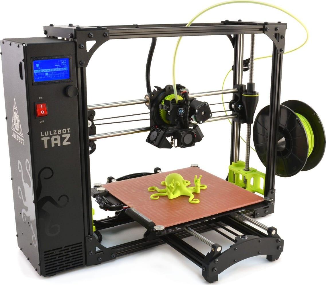Lulzbot TAZ 6 Desktop 3D Printer (v6.0)