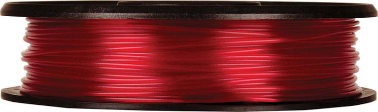 MakerBot MP05763 0.5 lbs. Small Translucent Red PLA Filament