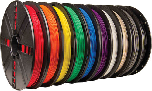 MakerBot MP06572 MakerBot True Color Large PLA Filament 10 Pack