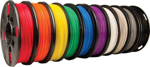 MakerBot MP06591 MakerBot True Color Small PLA Filament 10 Pack
