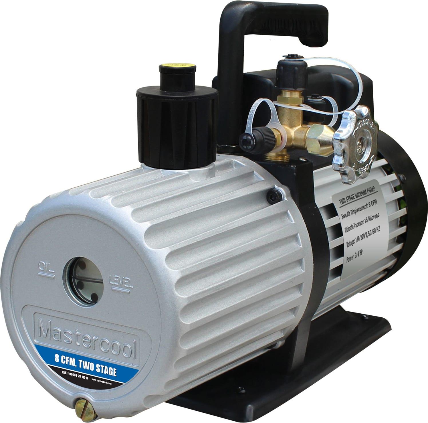 Mastercool 90066-2V-110-B 6 CFM Two-Stage Vacuum Pump