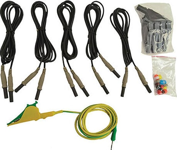 Megger 2007-259 Set of Unfused Voltage Leads for MPQ1000