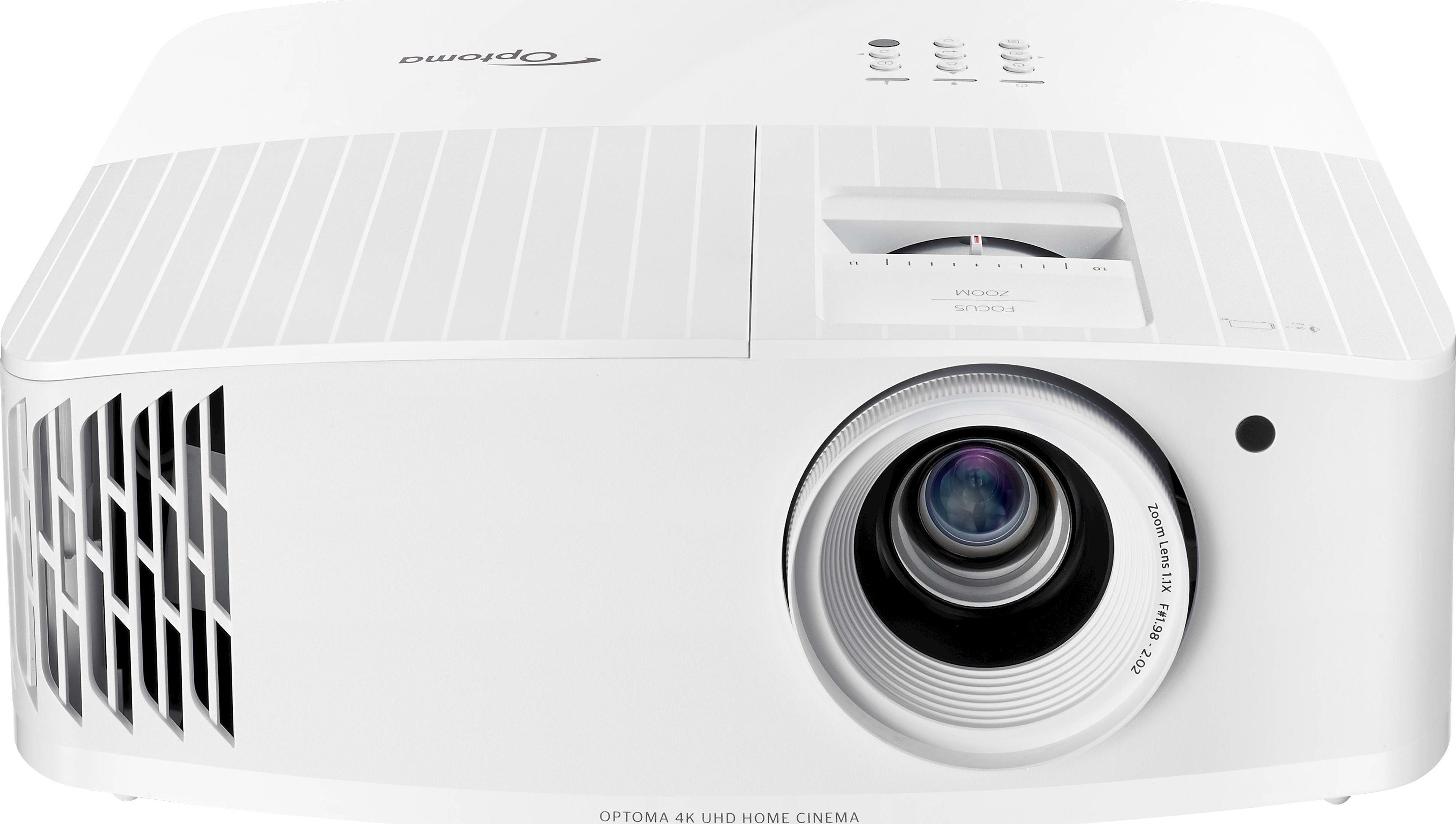 Optoma UHD35 - Home Theater & gaming Projector, 4K UHD 3600 Lumens (White)