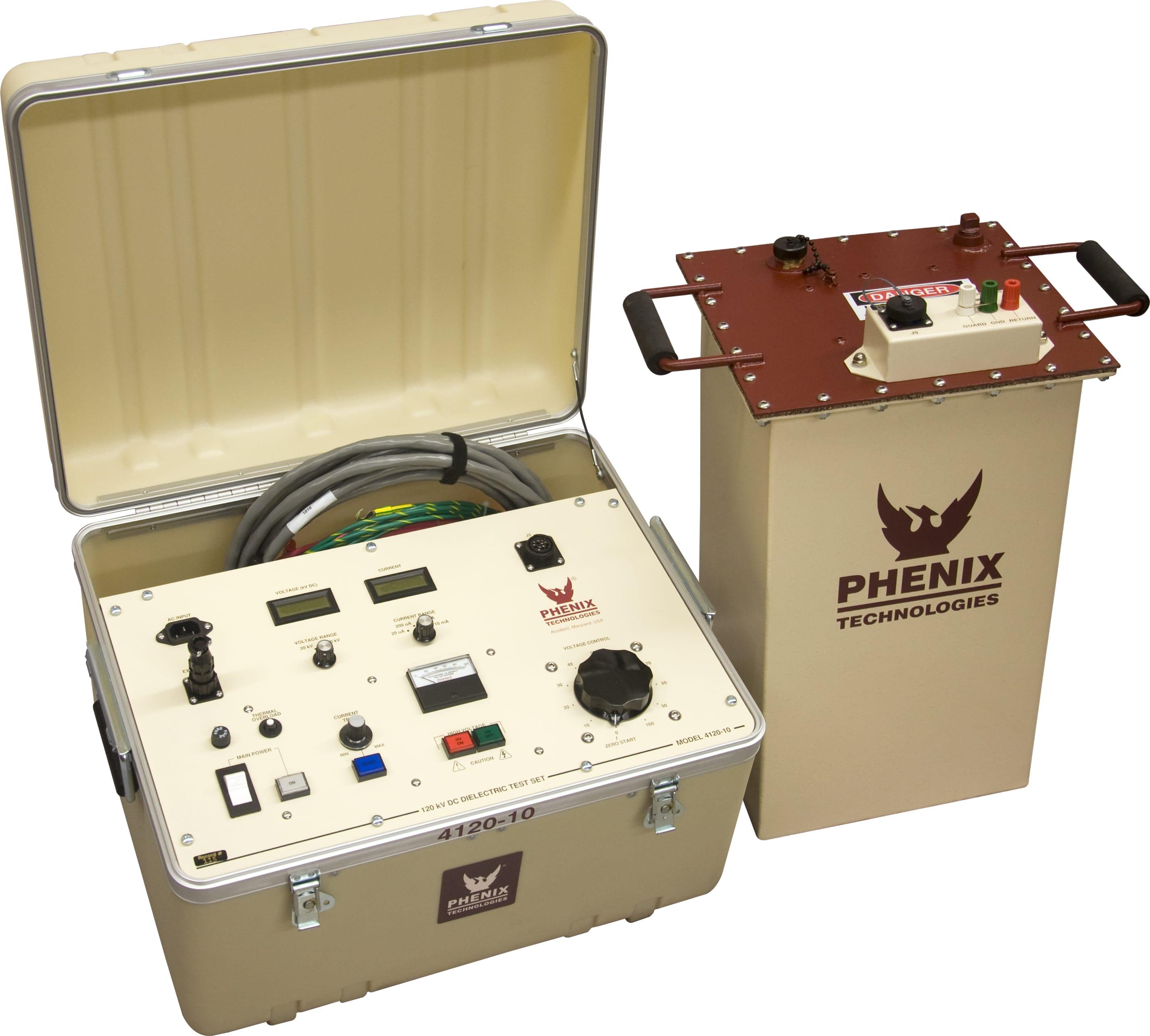 Phenix Technologies 4120-10 120 kVDC Portable DC Hipot