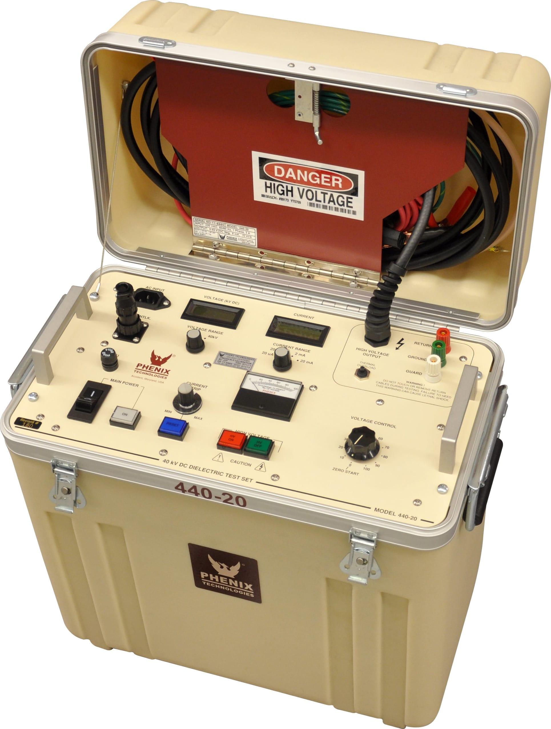 Phenix Technologies 440-20 40kVDC Portable DC Hipot