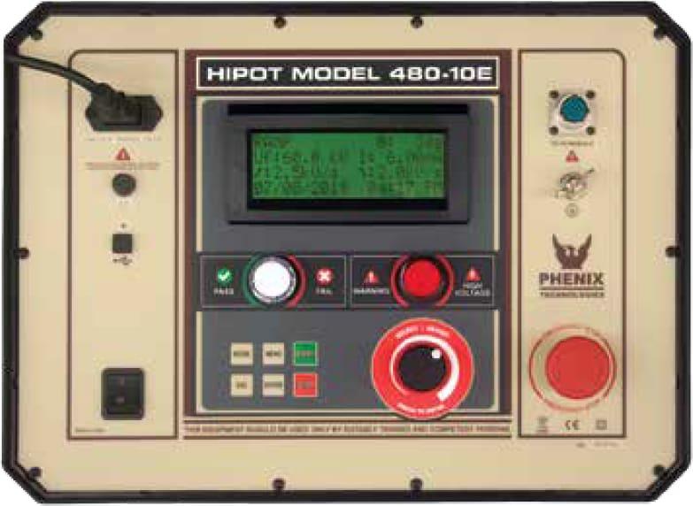 Phenix 480-10E - Smart DC Hipot
