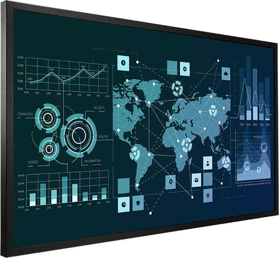 QE-Series Interactive Display