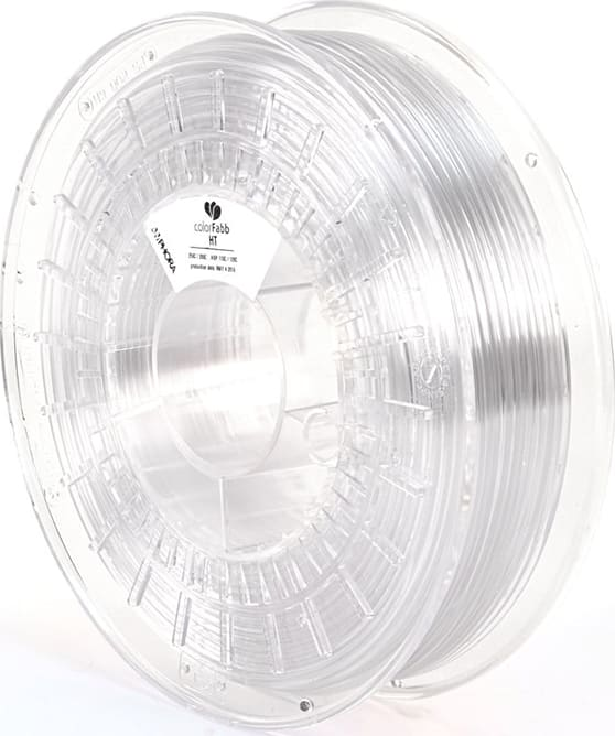 colorFabbHT AM5300 Copolyester, .7kg Reel Clear