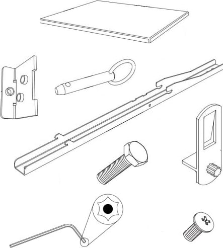 SMARTBOARD 1025859 - Assembly Value Accessory Kit Mobile Stand