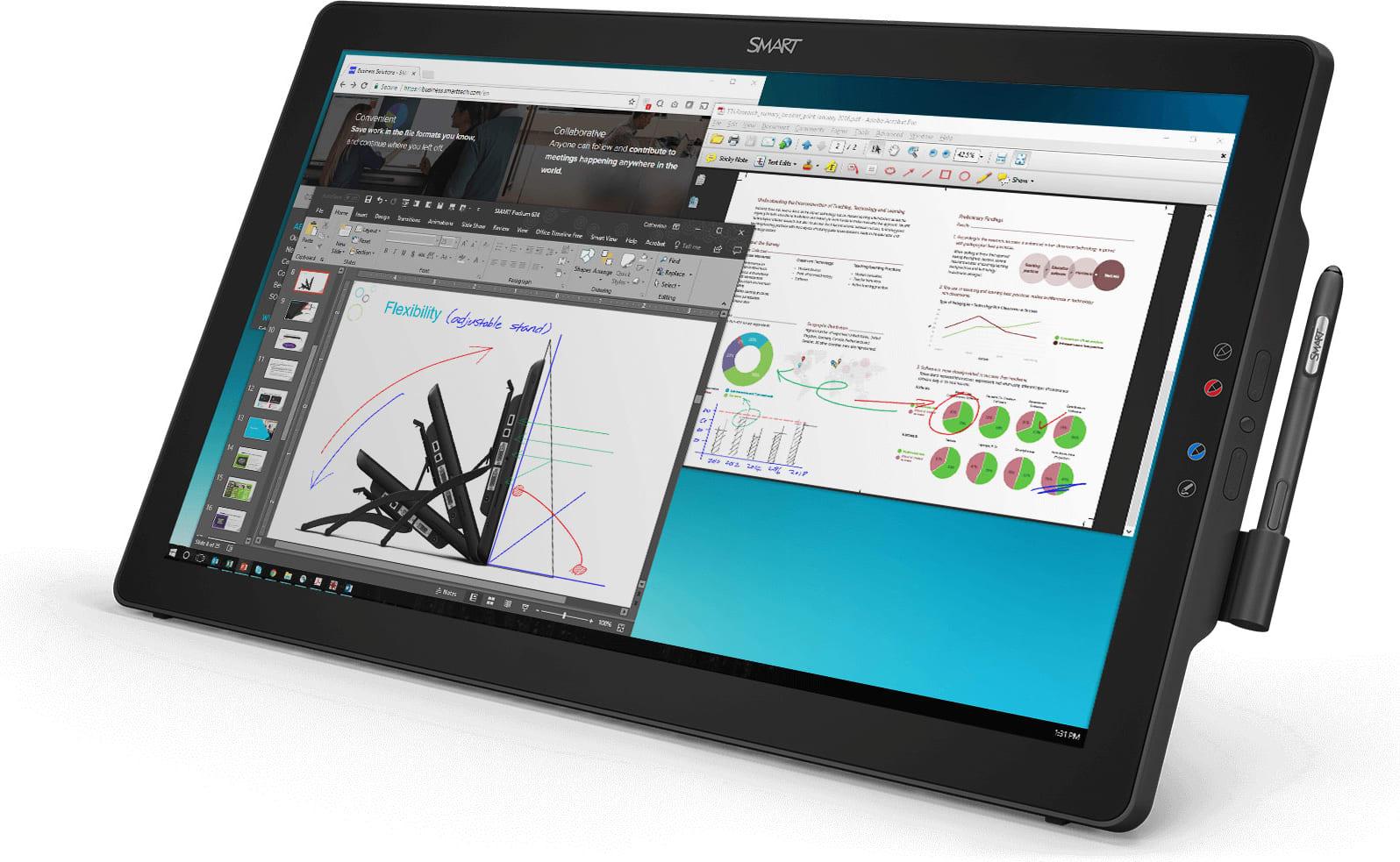 SMARTBOARD SP624P - Podium Interactive Pen Display SP624P with Meeting Pro