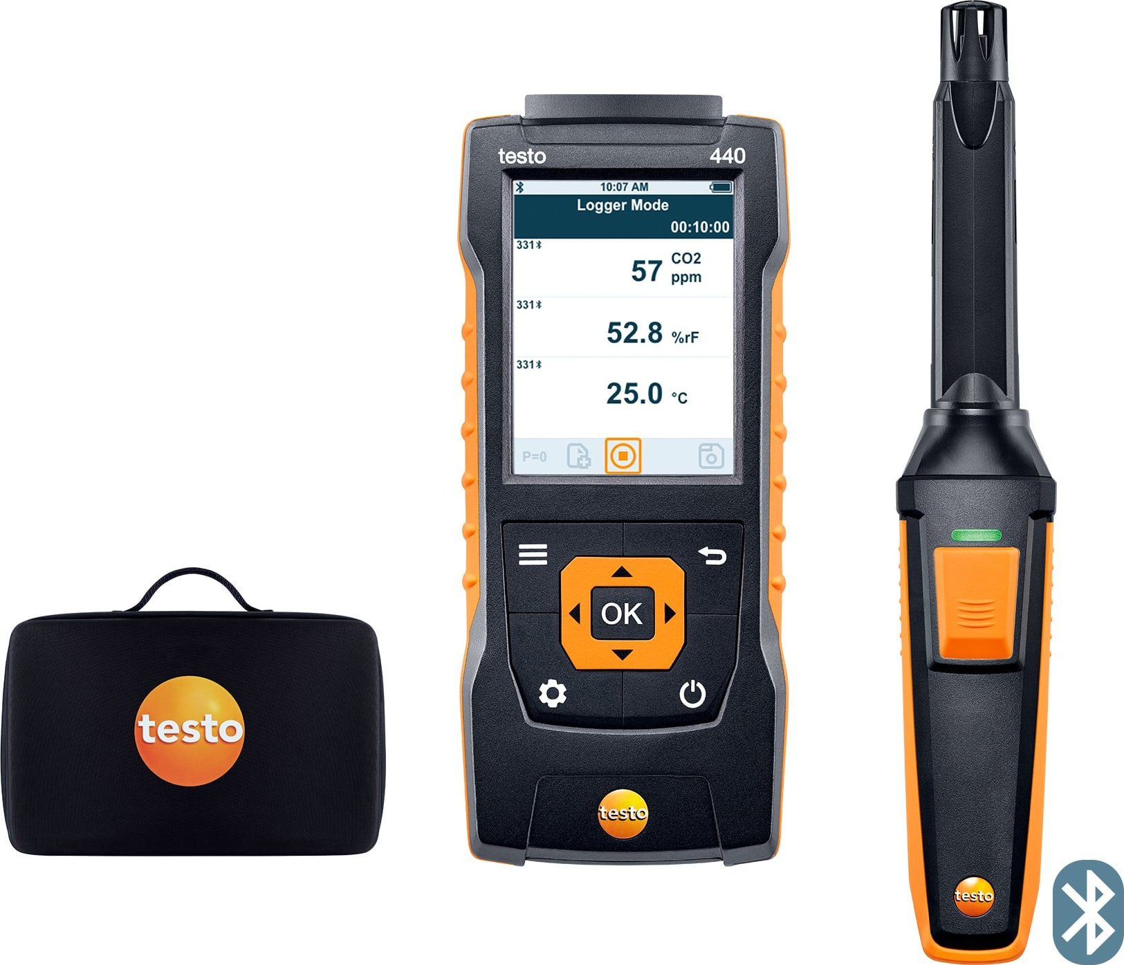 Testo 440 CO2 Kit with Bluetooth - Part Number 0563 4405