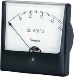 Simpson Wide-Vue Analog Panel Meters