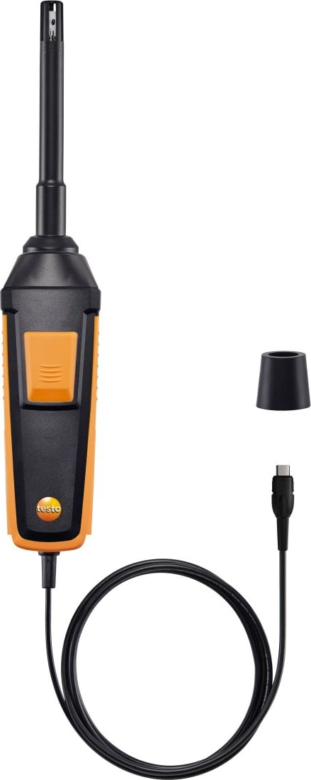 Testo 0636 9772 High-precision Humidity-Temperature Probe Digital - Wired
