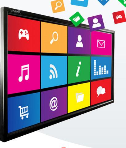 TouchIT Interactive 4K LED Screen