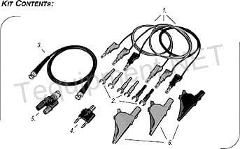 Cal Test CT4041 Power Supply Accessory Kit